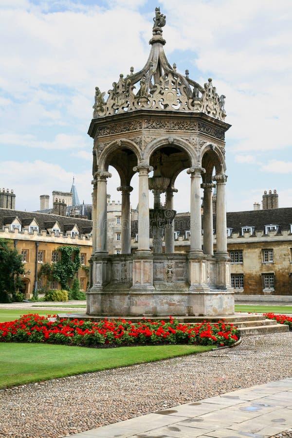 De Universiteit van Cambridge royalty-vrije stock afbeelding