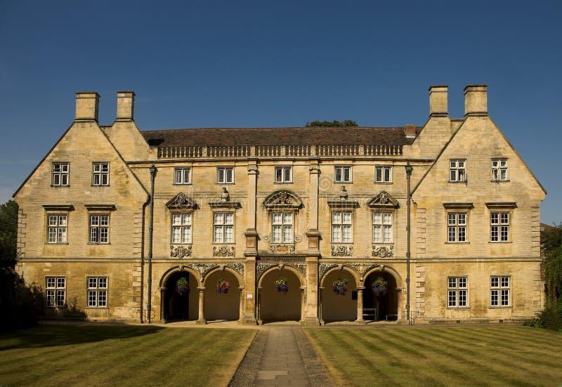 De Universiteit van Cambridge stock fotografie