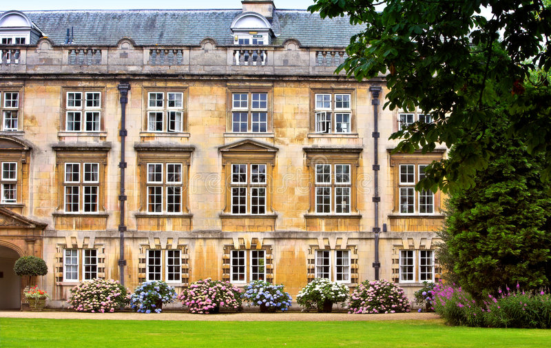 De Universiteit van Cambridge royalty-vrije stock fotografie