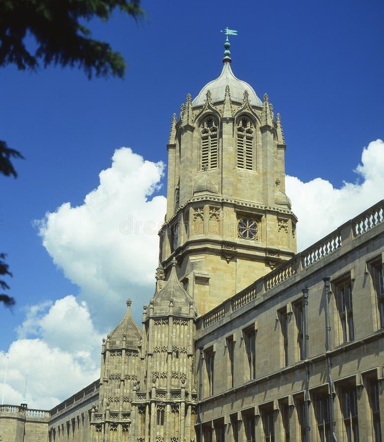 De Universiteit van Christchurch. Oxford. het UK stock fotografie