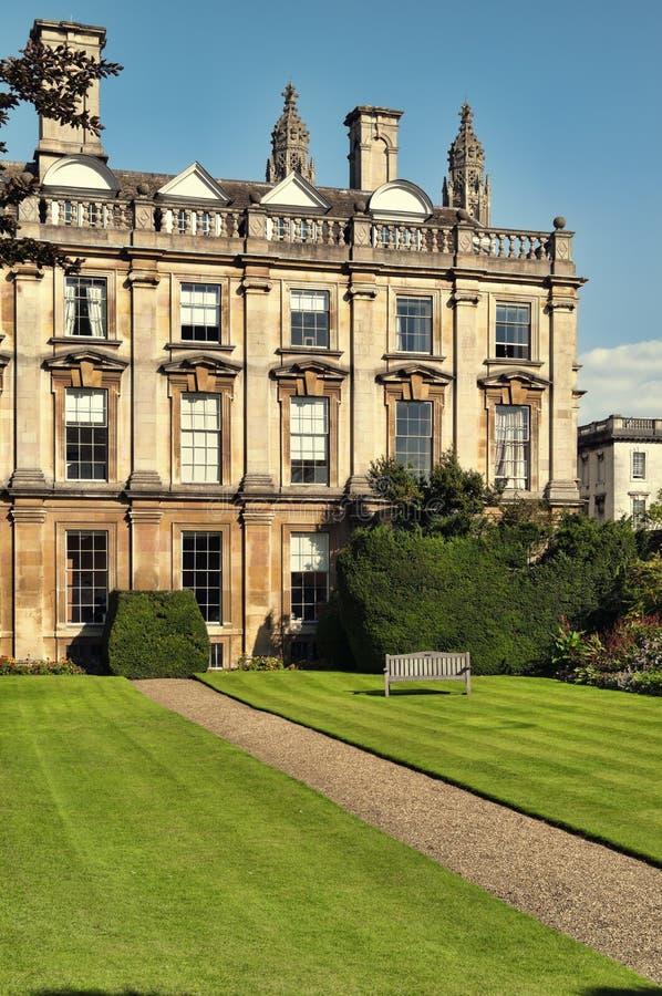 De Universiteit van Clare, Cambridge stock afbeelding