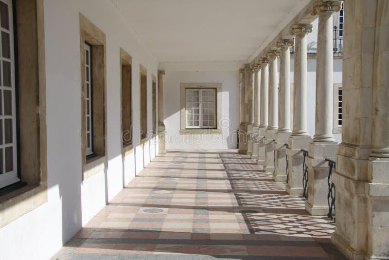 De Universiteit van Coimbra royalty-vrije stock afbeeldingen