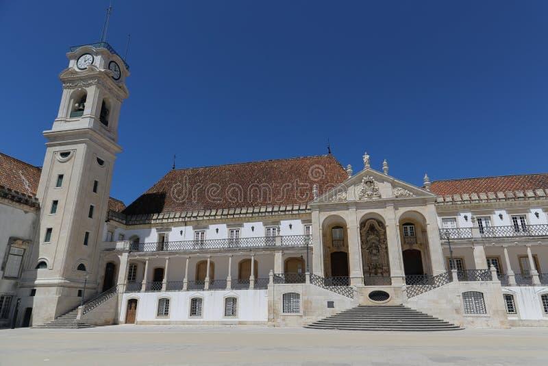 Download De Universiteit Van Coimbra Stock Afbeelding - Afbeelding bestaande uit buitenkant, beroemd: 54087531