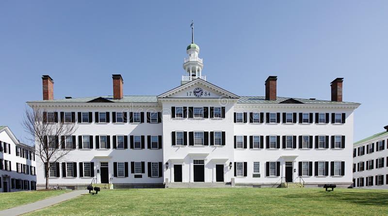 De Universiteit van Dartmouth, Hanover, Van Newhampshire royalty-vrije stock afbeelding