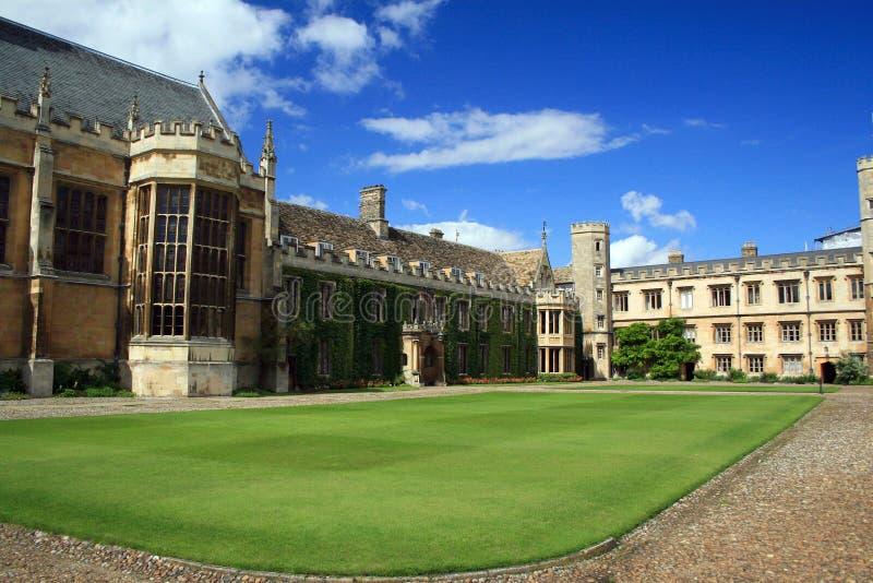 De Universiteit van de drievuldigheid, Cambridge royalty-vrije stock foto's