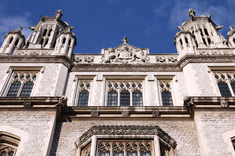 De Universiteit van de Koning van Londen royalty-vrije stock afbeeldingen