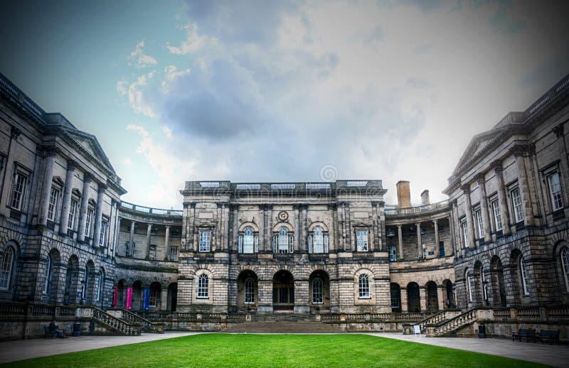 De universiteit van Edinburgh stock foto