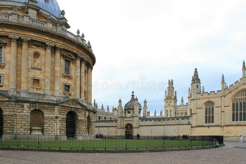 De Universiteit van erker, Oxford, Engeland. royalty-vrije stock foto