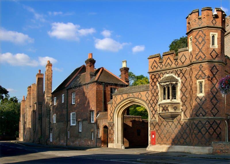De Universiteit van Eton royalty-vrije stock afbeelding