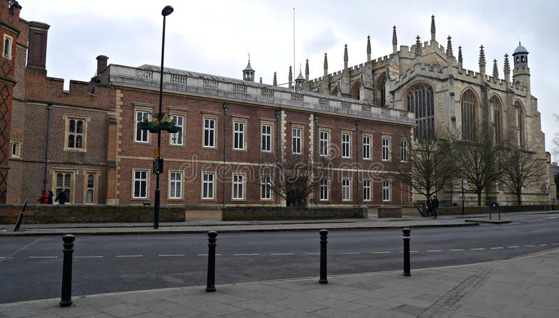 De Universiteit van Etonjongens en Eton-Kapel in Eton Berkshire royalty-vrije stock foto