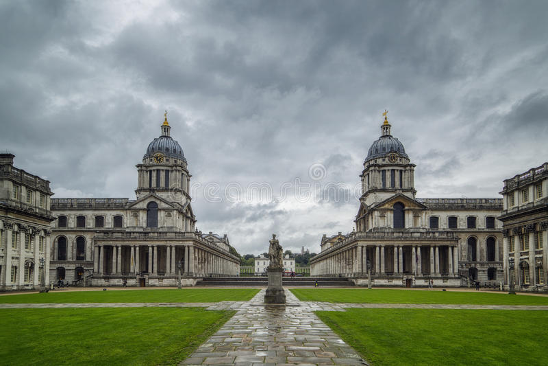 De Universiteit van Greenwich royalty-vrije stock fotografie