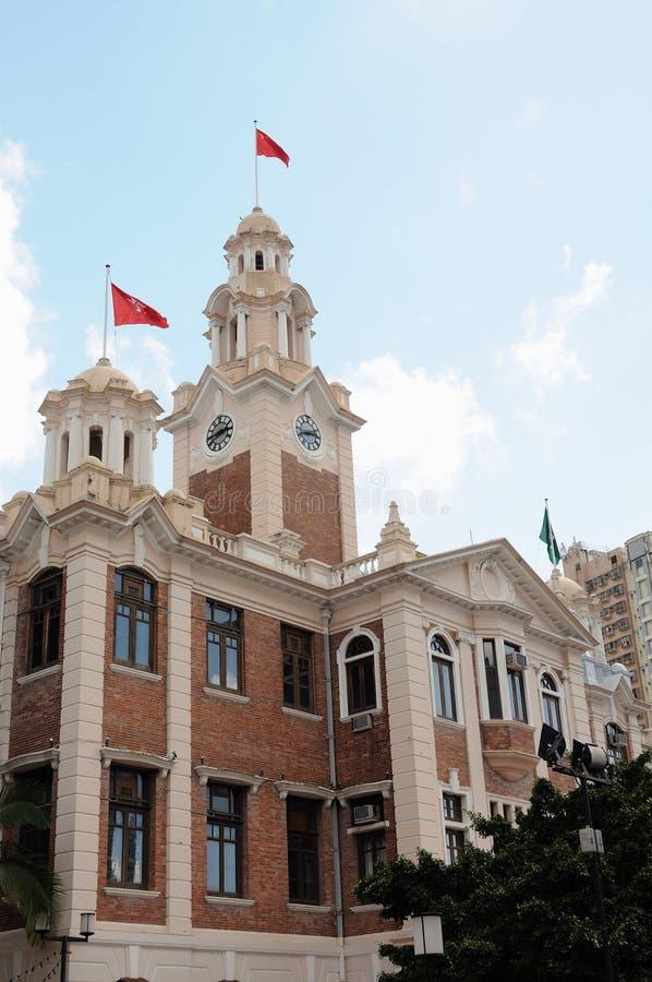 De universiteit van Hongkong royalty-vrije stock foto's