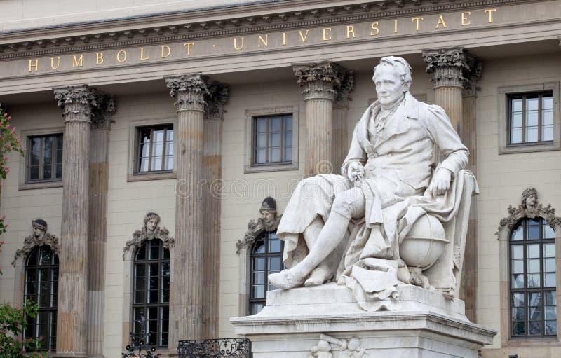 De Universiteit van Humboldt royalty-vrije stock afbeelding