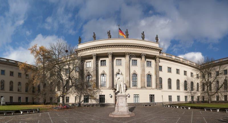 De universiteit van Humboldt stock foto