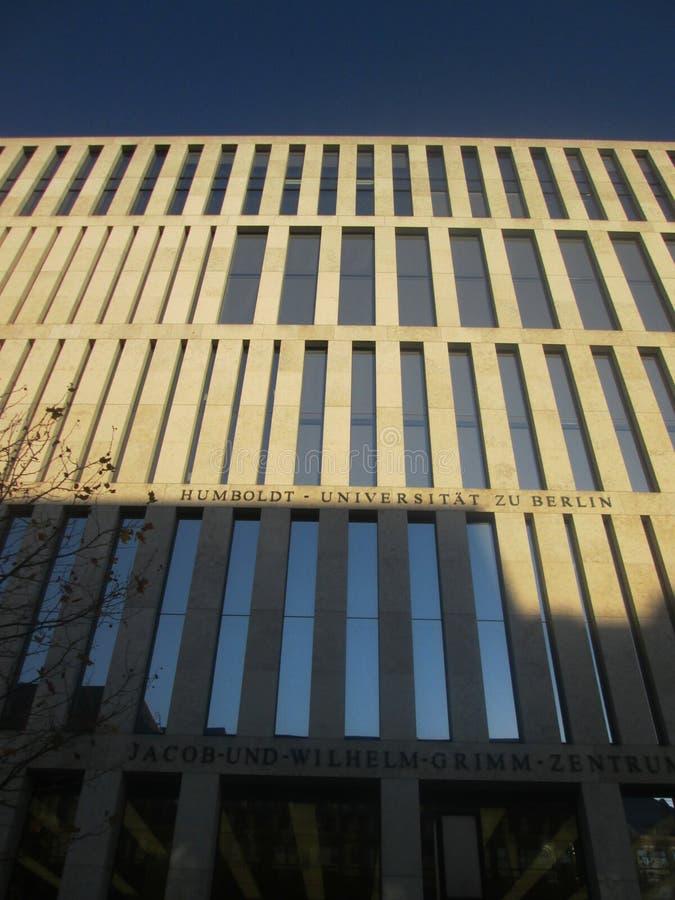 De universiteit van Humboldt in Berlijn royalty-vrije stock afbeeldingen