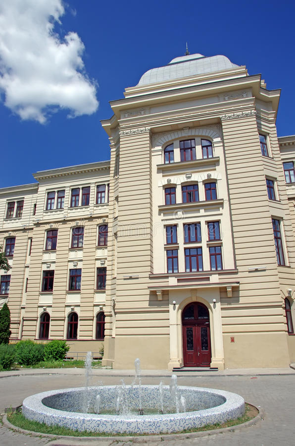 De Universiteit van Iasi royalty-vrije stock foto
