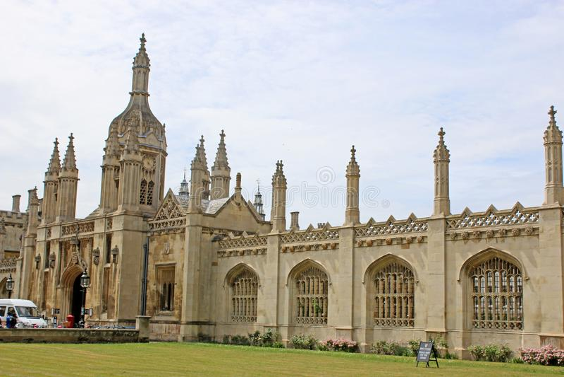 De Universiteit van koningen, Cambridge royalty-vrije stock afbeelding