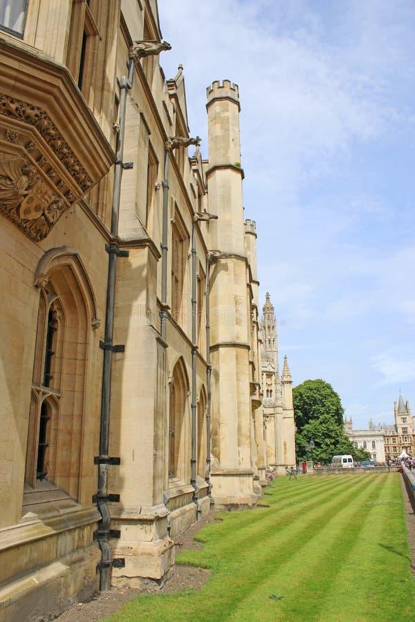De Universiteit van koningen, Cambridge stock fotografie