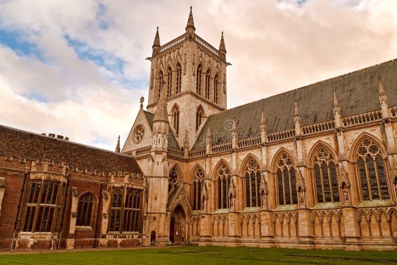 De Universiteit van koningen, Cambridge het UK royalty-vrije stock foto
