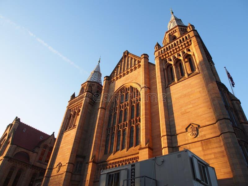 De Universiteit van Manchester stock foto