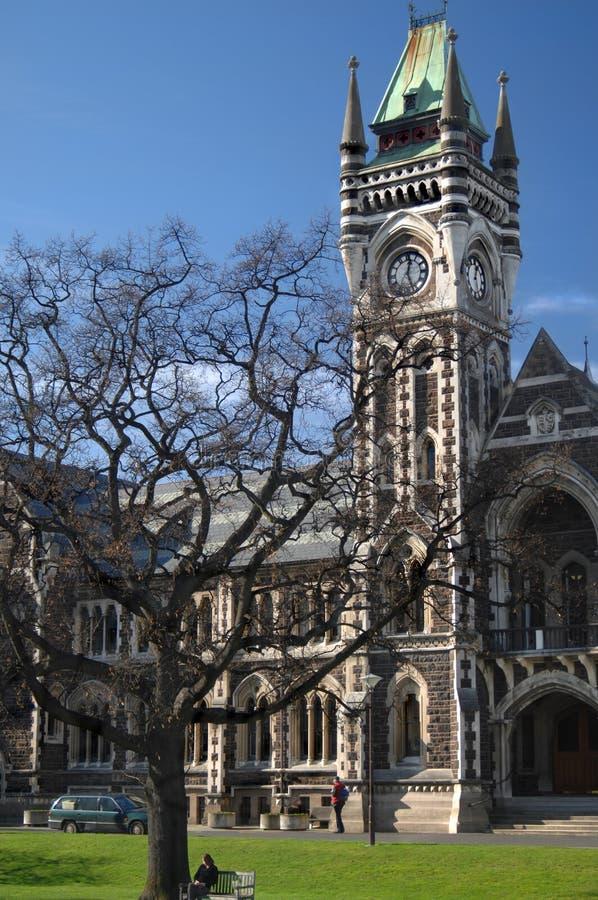 De Universiteit van Otago stock afbeelding