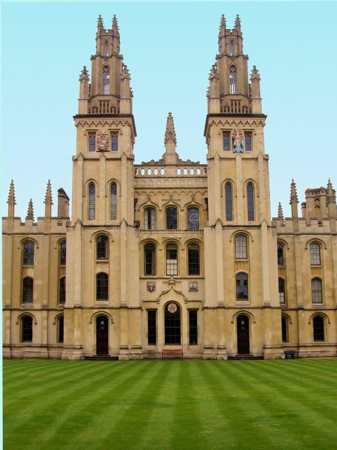 De Universiteit van Oxford royalty-vrije stock foto's