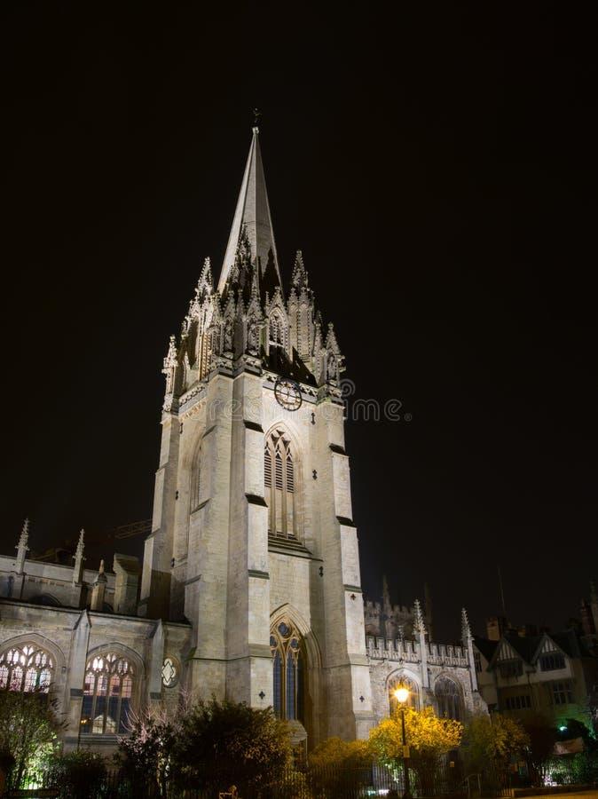 De Universiteit van Oxford royalty-vrije stock foto