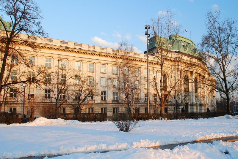 De Universiteit van Sofia royalty-vrije stock fotografie