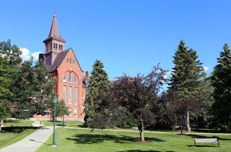 De Universiteit van Vermont royalty-vrije stock afbeelding