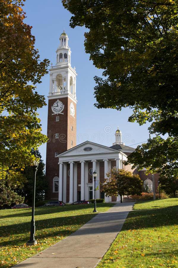 De Universiteit van Vermont stock fotografie