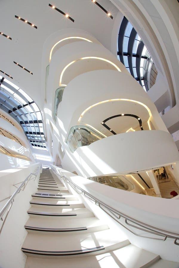 De Universiteit van Wenen van Economie en Zaken in Wenen royalty-vrije stock afbeelding