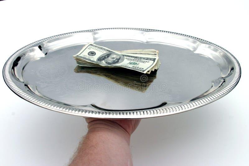 De uw Heer van het Geld! stock foto