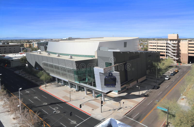 De V.S., Arizona/Phoenix: Comericatheater royalty-vrije stock afbeeldingen