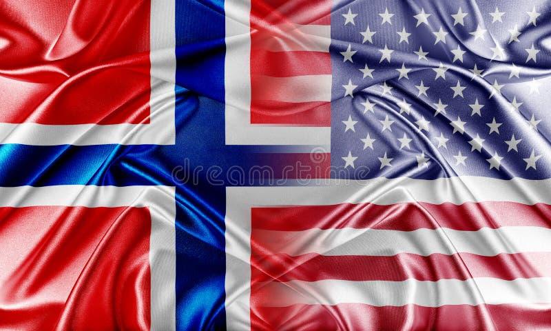 Download De V.S. en Noorwegen stock foto. Afbeelding bestaande uit confrontatie - 54085360