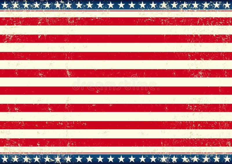 De V.S. markeren horizontaal royalty-vrije illustratie