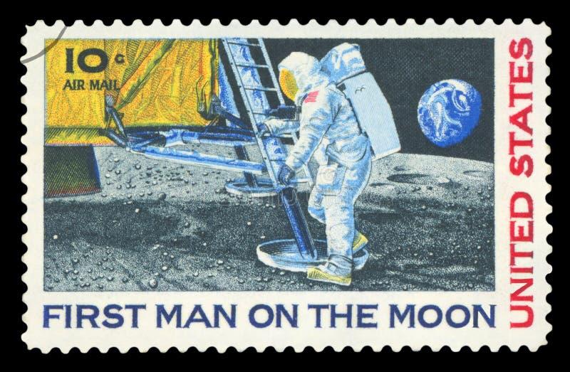 De V.S. - Postzegel stock fotografie