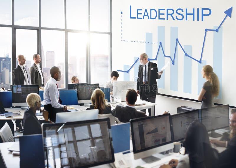 De Vaardighedenleider Support Concept van het leidingsbeheer royalty-vrije stock foto's