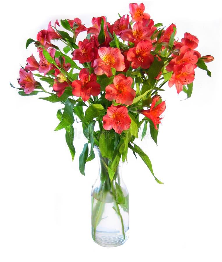 De Vaas van bloemen royalty-vrije stock fotografie