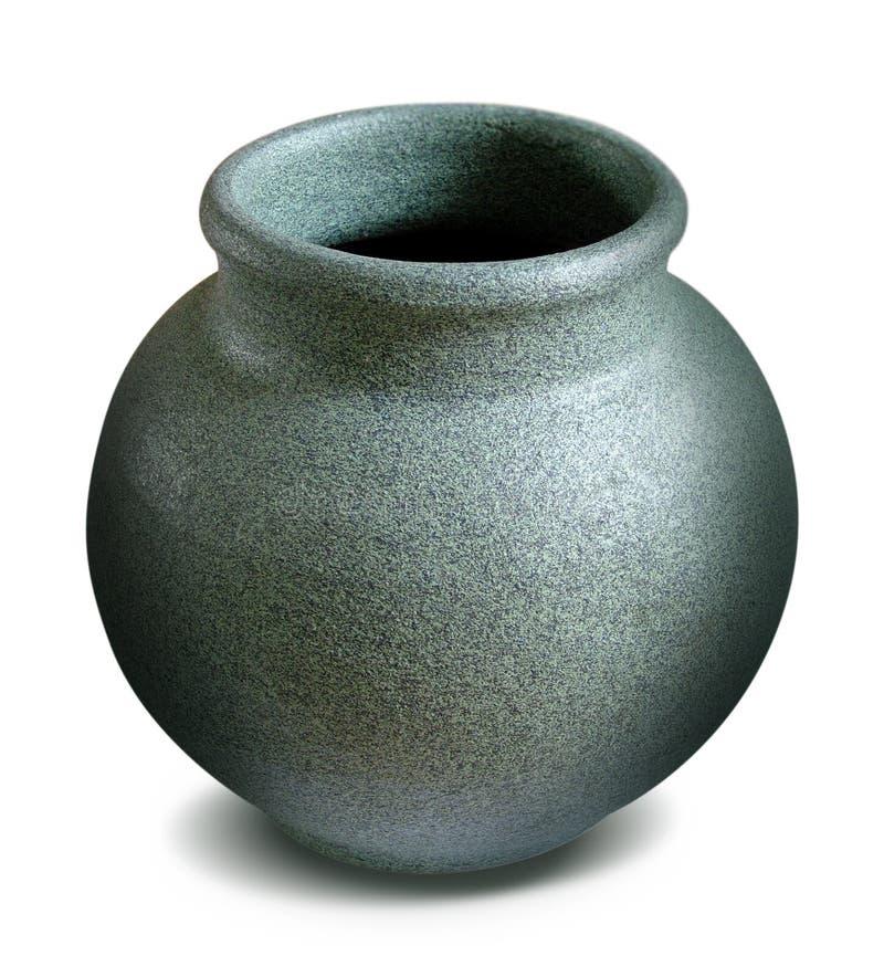 De vaas van de steen stock fotografie
