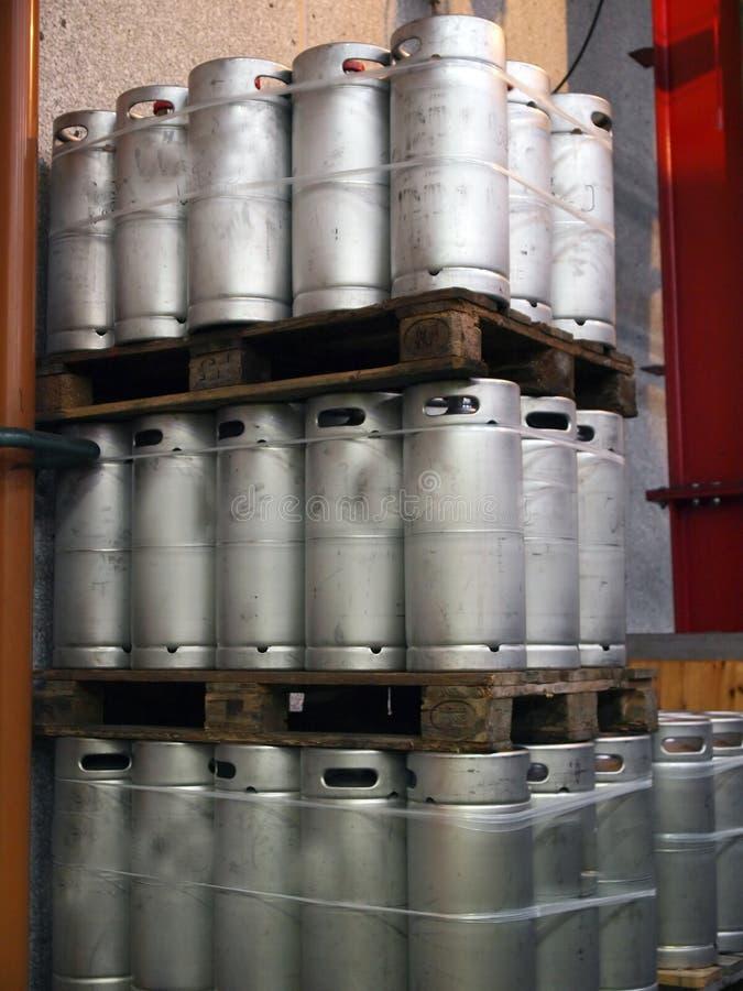 De Vaatjes van het bier royalty-vrije stock afbeelding