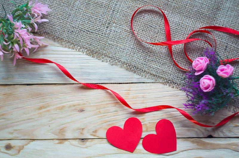 De vakantie van de Dagvalentine van Valentine ` s stock afbeelding