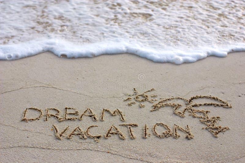 De vakantie van de droom royalty-vrije stock foto's