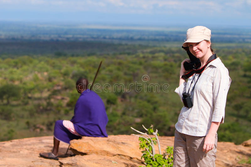 De vakantie van de safari royalty-vrije stock afbeelding