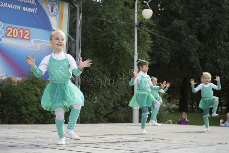 De Vakantie van de Stad van Minsk: 945 jaar, 9 September 2012 royalty-vrije stock foto's