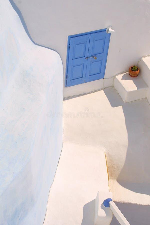 De vakantie van de zomer in Griekenland stock afbeeldingen
