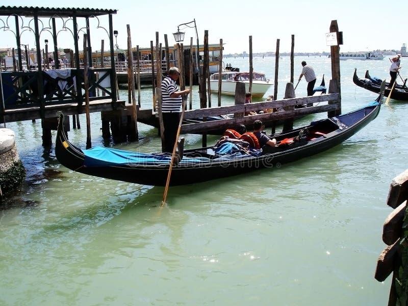 De Vakantie van de Gondelcarnaval van Venetië royalty-vrije stock fotografie