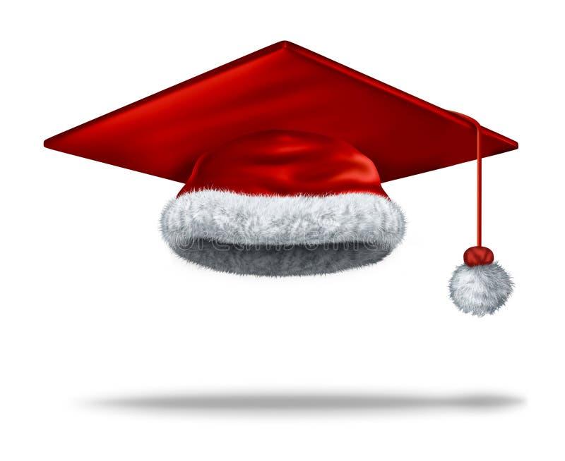 De Vakantie van het Kerstmisonderwijs stock illustratie