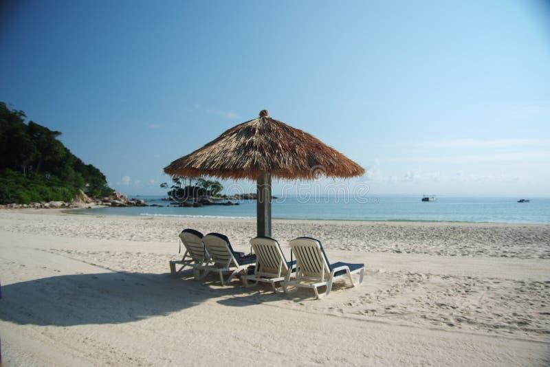 De Vakantie van het strand. royalty-vrije stock foto
