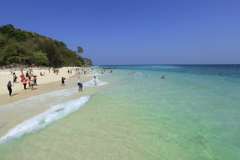 De vakantie van het strand stock afbeeldingen