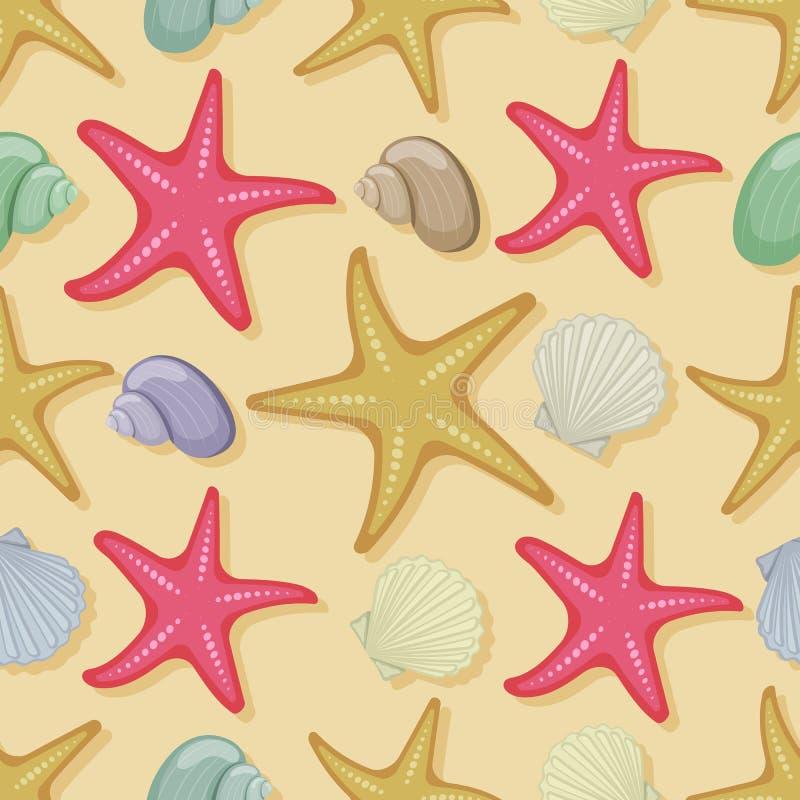 De vakantie van de strandzomer vector illustratie